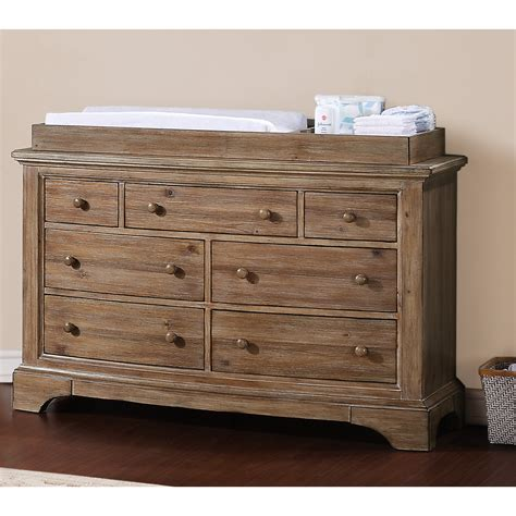 Crib With Dresser by Bertini Baby Pembrooke 7 Drawer Dresser