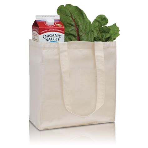 Cotton Grocery organic cotton grocery tote with imprint