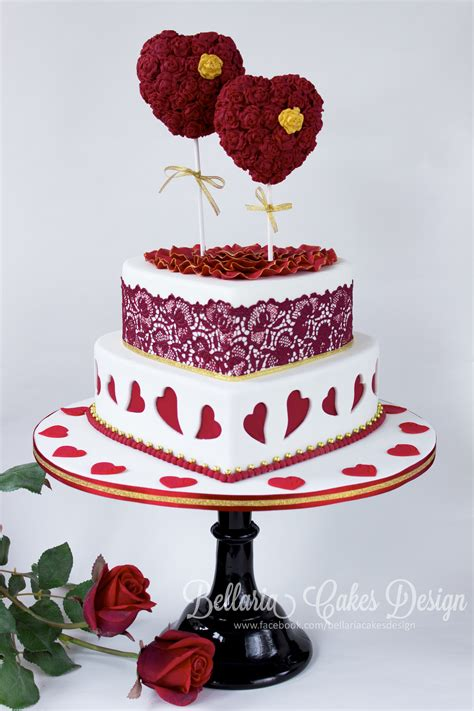 valentines themed a valentines day themed wedding cake riany