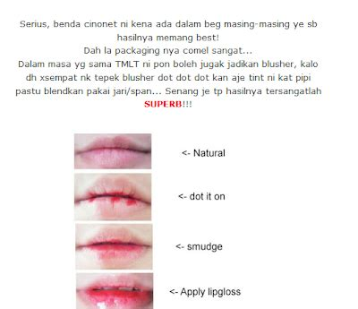 Harga Tony Moly Lip Tint Review ℳemories tony moly lip tint