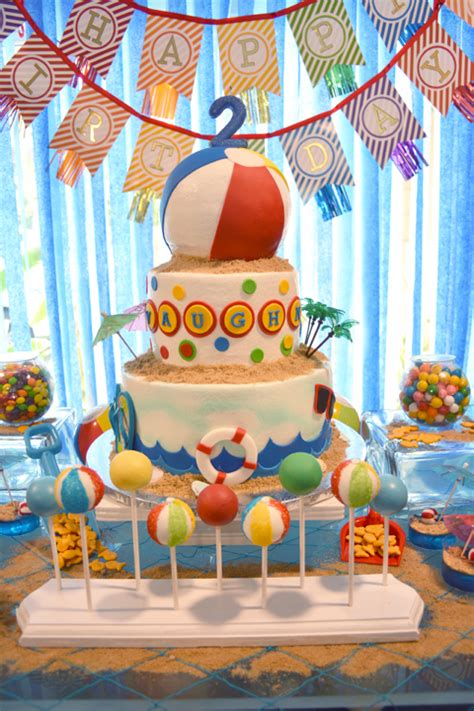 Birthday Ideas For Year Olds In Summer by A Pool Splash