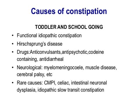 Pasty Stool Constipation by Chronic Abdominal In Children