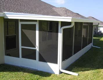 screen room contractors aluminum contractors products screen rooms