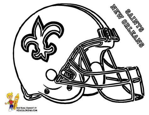 nfl saints coloring pages this site has all sorts of football coloring pages