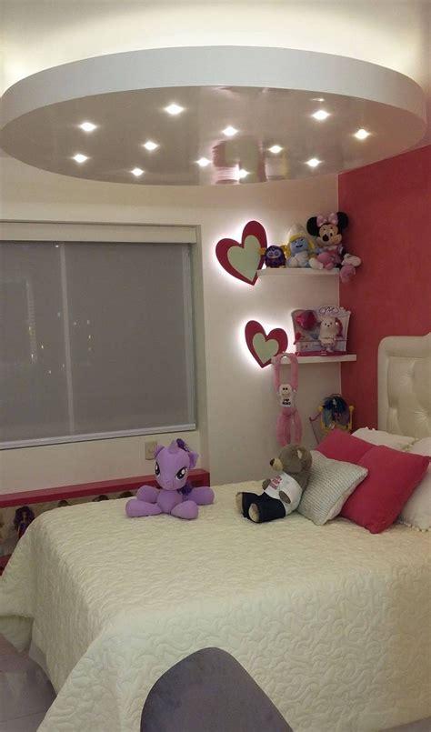 decoracion de dormitorio  corazones  ninas