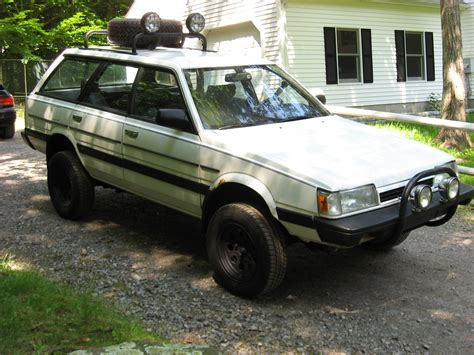 lifted subaru lifted 1987 subaru gl hatchback thediyguy