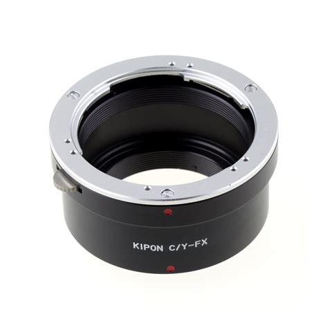 c mount to fuji x pro 1 kipon c y fx contax yashica lens convert to fuji x pro 1