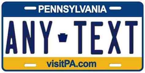 Pennsylvania Vanity Plate by 228 Best Images About License Plates On