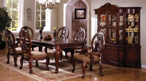 cherry dining room set tuscany ii antique cherry rectangular leg dining room set
