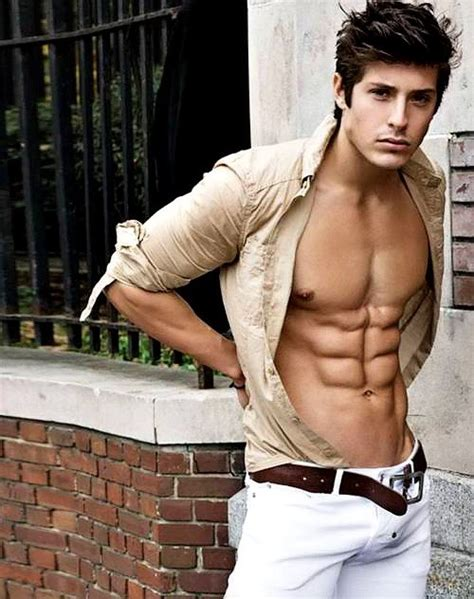 6 Guys From by From Top To Bottom Hair Pecs Abs Bulge