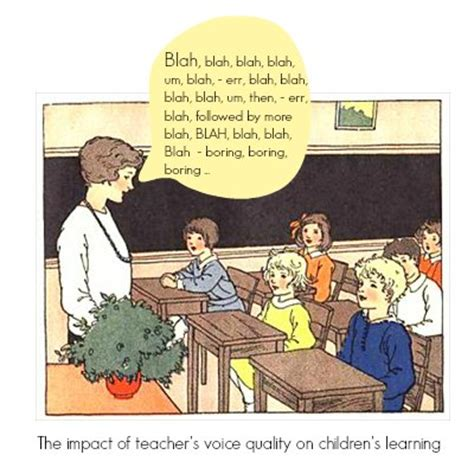 how is your teaching voice
