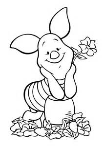 winnie pooh piglet coloring coloring pages piglets