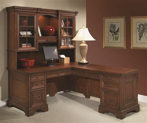 solid wood corner computer desk with hutch solid wood desk l shaped image of solid wood corner