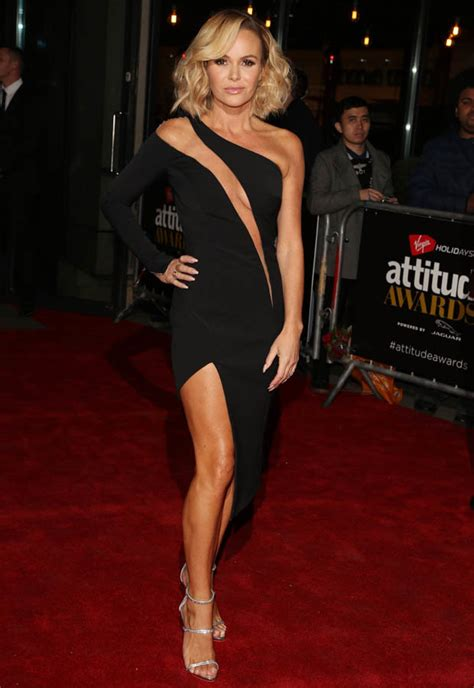 Amanda Dres amanda holden instagram pics upstaged by dress for