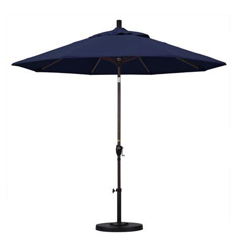 California Umbrella 9 Ft Aluminum Push Tilt Patio California Umbrella 9 Ft Aluminum Push Tilt Patio