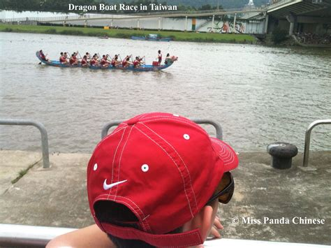 dragon boat delivery miss panda chinese dragon boat race in taiwan miss