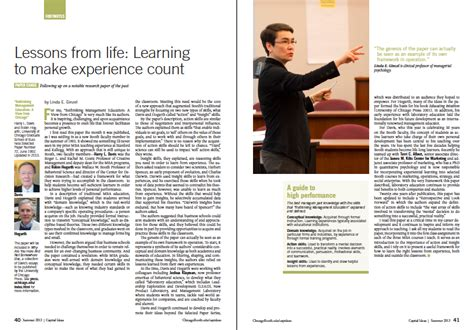 editorial layout exles u of chicago magazine redesigns for sharper editorial