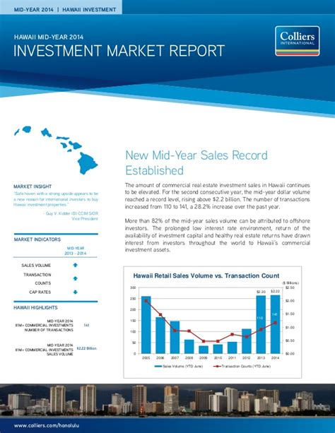 market study report sle colliers investment market report mid year 2014