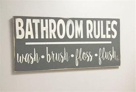 bathroom rules art 25 best ideas about bathroom rules on pinterest