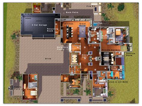 Find My Floor Plan mod the sims 2010 hgtv dream home tribute by artisim