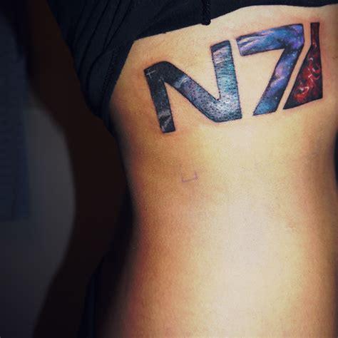 n7 tattoo best n7 i ve seen mass effect