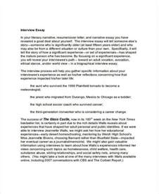 Employment Essay by 6 Essay Exles Sles