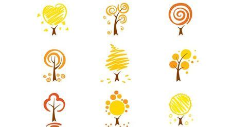 Simply Me Graphic 4 free simple autumn trees vector nature simple autumn