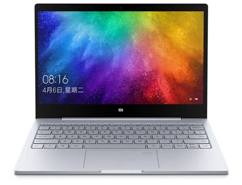 Xiaomi Mi Notebook Air 13 3inc xiaomi intros mi notebook air 13 with a fingerprint scanner androidheadlines