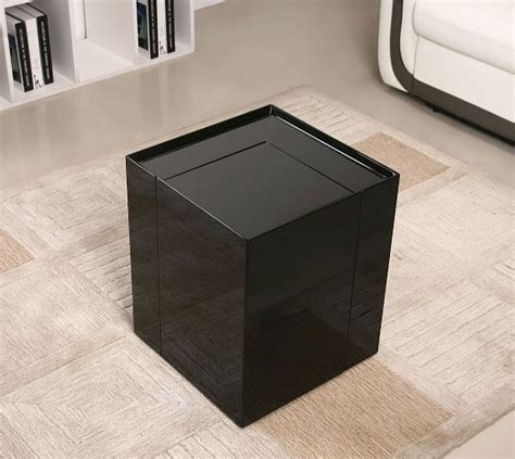 designer accent tables modern end table with mini bar chicago furniture stores