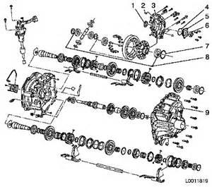 Vauxhall Astra Parts Diagram M32 Gearbox Wg Motorworks