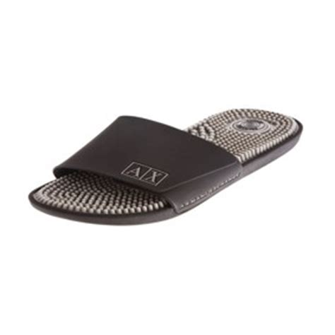 armani exchange slippers armani exchange logo slide sandal armani shoes