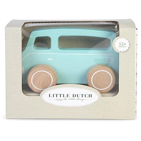 speelgoed little dutch speelgoed auto busje mixed stars mint little dutch
