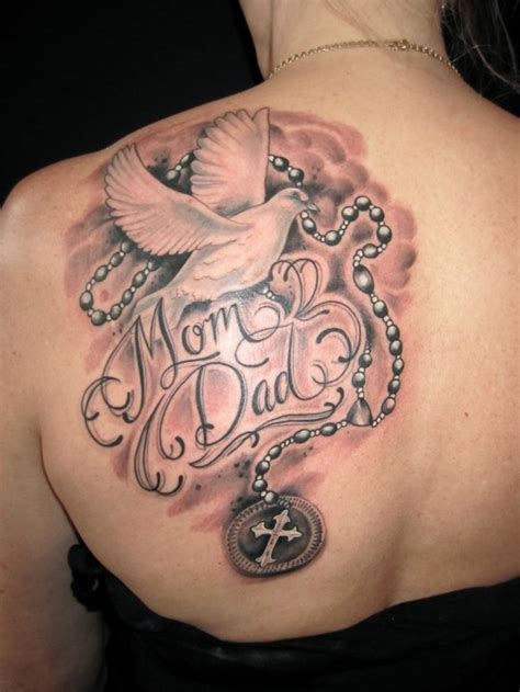 mother father tattoo designs memorial images designs