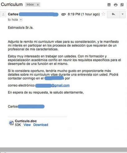 Modelo Carta Presentacion Curriculum Por Email Conozca La Historia De Carlo Un Espa 241 Ol Que Fue Humillado P 250 Blicamente Por Una Empresa Tras