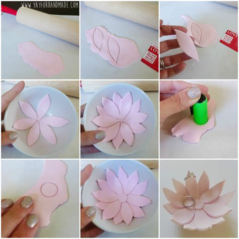 Handmade Paper Diy - 20 diy beautiful polymer clay flower step by step