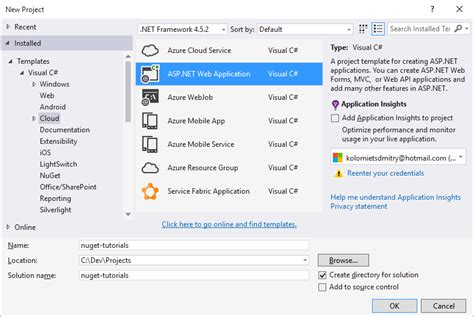tutorial asp net project nuget tutorial i web document viewer