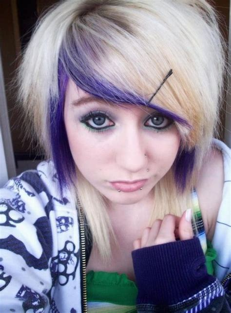 girl hairstyles blonde emo hairstyles for girls latest popular emo girls