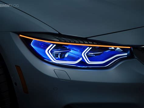 bmw m4 headlights world premiere bmw m4 concept iconic lights