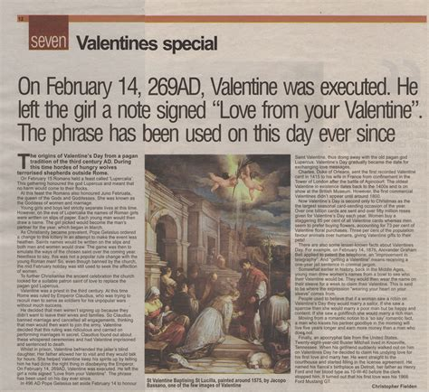 newspaper article exle
