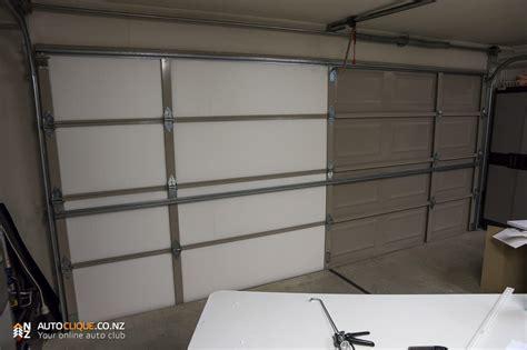 Garage Door Insulation Kit Reviews Expol Garage Door Insulation Kit Install Product Review Drivelife Drivelife