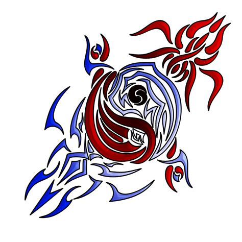 tribal yin yang tattoos designs tribal yin yang by chobaryu on deviantart
