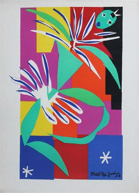 matisse cut outs poster set henri matisse paper cuts outs gouaches d 233 coup 233 s matisse gouache paper and