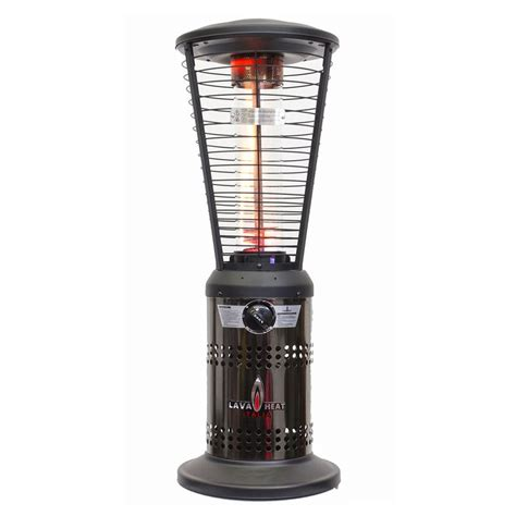 Lava Heat Patio Heaters Shop Lava Heat Italia 10000 Btu Gunmetal Stainless Steel Tabletop Liquid Propane Patio Heater At