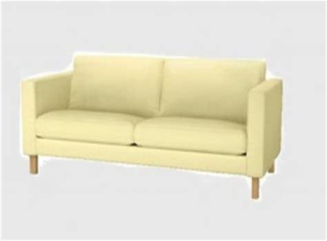 Ikea Mid Century Sofa Ikea Karlstad Loveseat Sofa Slipcover Cover Sivik Light Yellow 2 Seat Mid Century Modern