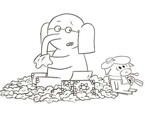 in elephant and piggie coloring pages coloring pages elephant and piggie coloring pages coloring home