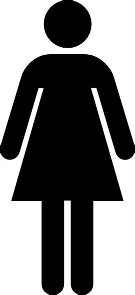 woman bathroom symbol female toilet sign clip art at clker com vector clip art