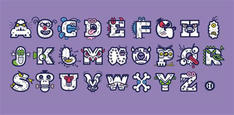 bd monster letters typedifferent com b 252 ro destruct
