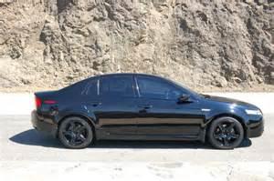 purchase used 2005 acura tl fully loaded black custom
