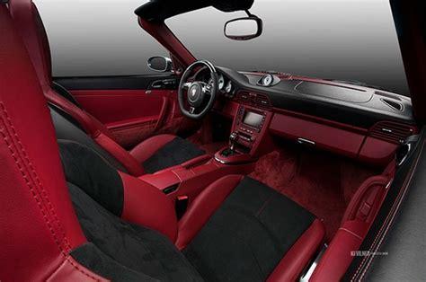 alcantara upholstery porsche 911 turbo cabriolet gets carbon fiber and