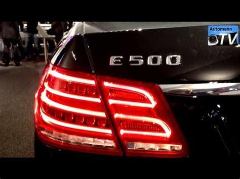 2014 mercedes e500 (407hp) facelift first impression